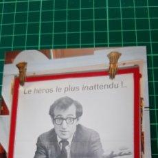 Cine: 1977 WOODY ALLEN LE PRETE NON ZERO MISTEL HERSCHEL BERNARDI 80X60 BUENO ESTADO. Lote 286930258
