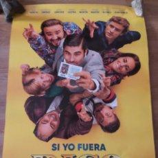 Cine: SI YO FUERA RICO - APROX 70X100 CARTEL ORIGINAL CINE (L90). Lote 286992693