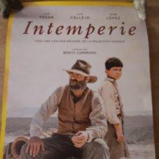 Cine: INTEMPERIE - APROX 70X100 CARTEL ORIGINAL CINE (L90). Lote 286993093