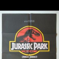 Cine: CARTEL CINE ORIGINAL : JURASSIC PARK - 1992 (RAREZA) - PERFECTO !!. Lote 287141708