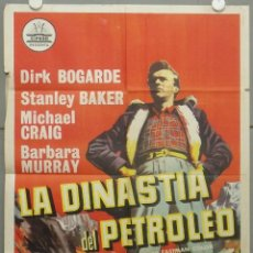Cine: RH91D LA DINASTIA DEL PETROLEO DIRK BOGARDE STANLEY BAKER CIFESA POSTER ORIGINAL 70X100 ESTRENO. Lote 287178333