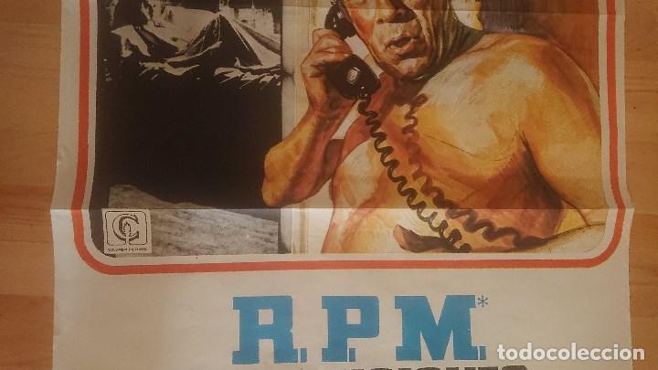 Cine: CARTEL DE DE LA PELICULA , REVOLUCIONES POR MINUTO , TAMAÑO 70x100 CM APROX , LEER DESCRIPCION - Foto 3 - 287181183