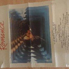 Cine: CARTEL DE DE LA PELICULA , UN PEQUEÑO ROMANCE , TAMAÑO 70X100 CM APROX , LEER DESCRIPCION. Lote 287181203