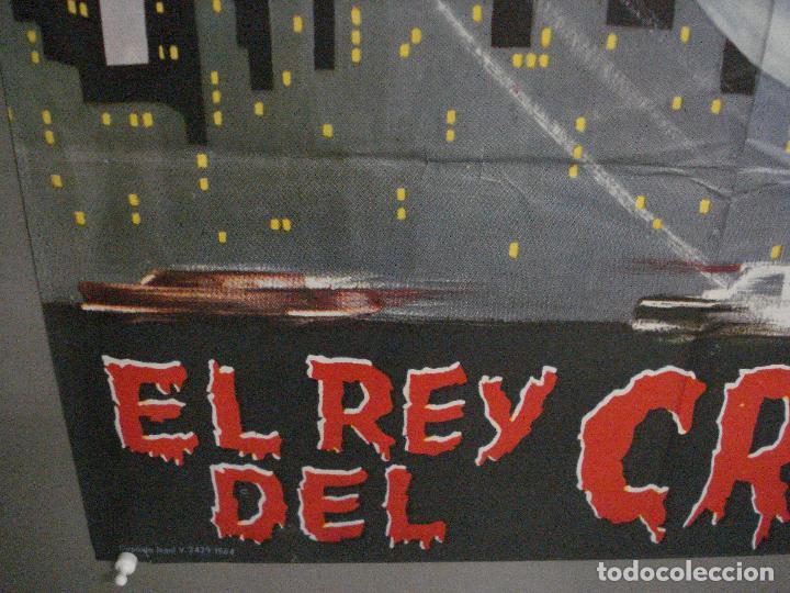 Cine: CDO M179 SANTO EL REY DEL CRIMEN enmascarado de plata YAÑEZ POSTER ORIGINAL 70X100 ESTRENO - Foto 5 - 287228548