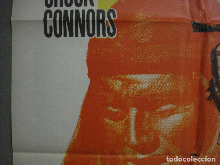 Cine: CDO M182 GERONIMO CHUCK CONNORS INDIOS POSTER ORIGINAL 70X100 ESTRENO - Foto 3 - 287230653