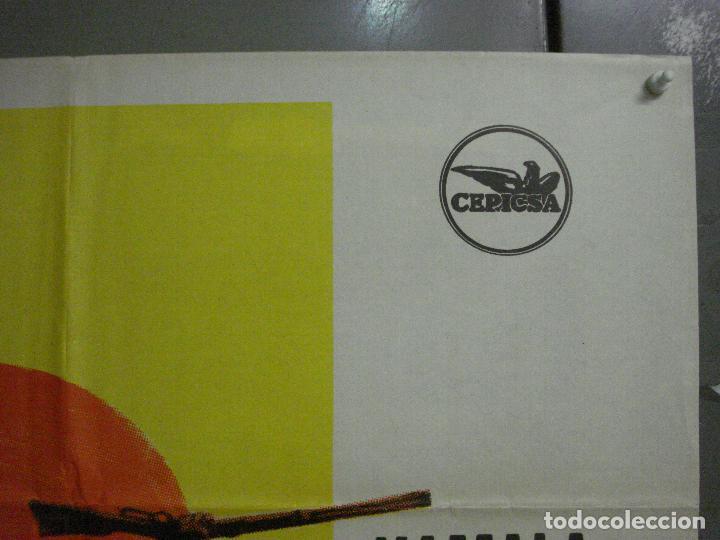 Cine: CDO M182 GERONIMO CHUCK CONNORS INDIOS POSTER ORIGINAL 70X100 ESTRENO - Foto 6 - 287230653