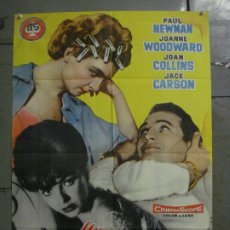 Cine: CDO M184 UN MARIDO EN APUROS PAUL NEWMAN JOANNE WOODWARD JOAN COLLINS POSTER ORIGINAL 70X100 ESTRENO. Lote 287232403