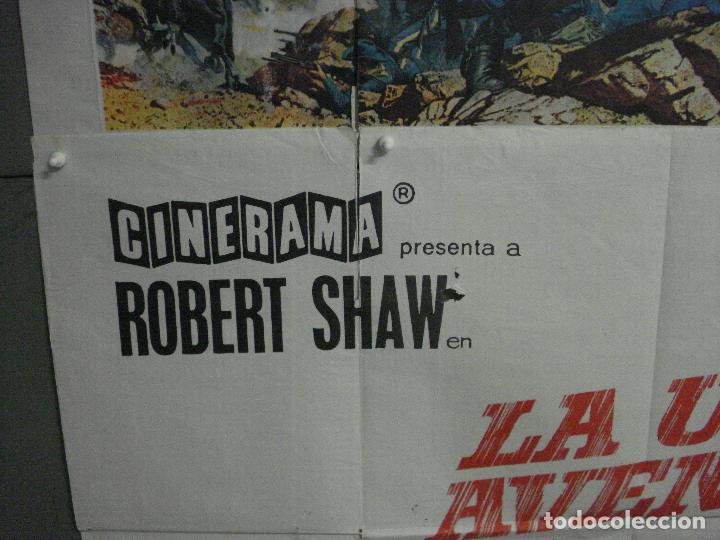 Cine: CDO M186 LA ULTIMA AVENTURA CUSTER ROBERT SHAW POSTER ORIGINAL 2 hojas 100X140 ESTRENO CINERAMA - Foto 4 - 287233693
