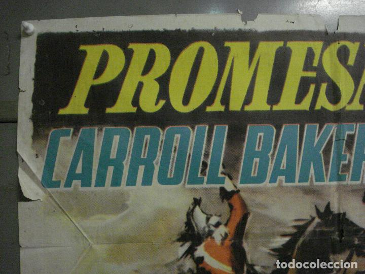 Cine: CDO M189 PROMESA ROTA CARROLL BAKER ROGER MOORE POSTER ORIGINAL 70X100 ESTRENO - Foto 2 - 287241058