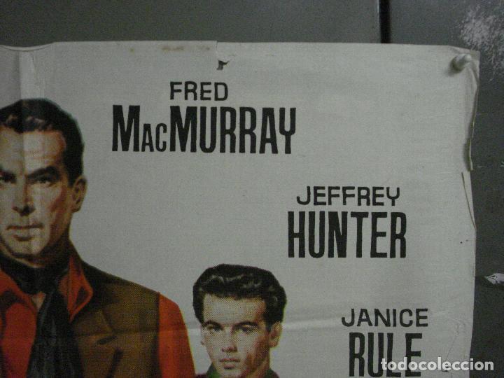 Cine: CDO M197 UNA PISTOLA PARA UN COBARDE FRED MACMURRAY JEFFREY HUNTER CIFESA POSTER ORIG 70X100 ESTRENO - Foto 6 - 287248023