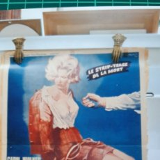 Cine: F.B.I EÑOQUERE A LOS ÁNGELES ROY FREMOUNT CAROL WALKER BUENO ESTADO 89X60 549. Lote 287253678