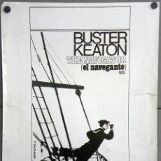 Cine: F11216D EL NAVEGANTE BUSTER KEATON FOTO POSTER B/N ORIGINAL ESPAÑOL 40X50. Lote 287394143