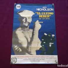 Cine: 1976, CARTEL DE CINE, EL ÚLTIMO DEBER, JACK NICHOLSON, COLUMBIA PICTURES, 96 X 66 CMS.. Lote 287412993