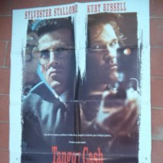 Cine: CARTEL DE CINE 70X 100 APROX MOVIE POSTER VER FOTO TANGO Y CASH SILVESTRER STALLONE. Lote 287421098
