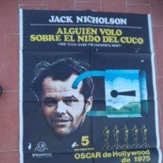 Cine: CARTEL DE CINE 70X 100 APROX MOVIE POSTER VER FOTO ALGUIEN VOLO SOBRE EL NIDO DEL CUCO. Lote 287457313