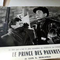 Cine: FOTOGRAMA EN FRANCE DE BERLANGA LE PRINCE DES PAUVRES MEDIDA 23X30 ORIGINAL. Lote 287472523