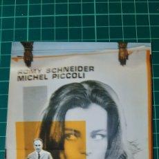 Cine: LA VOLEUSE ROMY SCHNEIDER MICHEL PICCOLI JEAN CHAPOT CARTEL PÓSTER AFICHE ORIGINAL 80X60 599. Lote 287483888