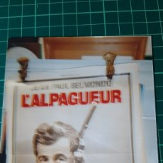 Cine: JEAN PAUL BELMONDO L ALPAGUEUR FILM PHILIPPE LABRO BRUNO CREMER 80X60 BUENO ESTADO 603. Lote 287485058