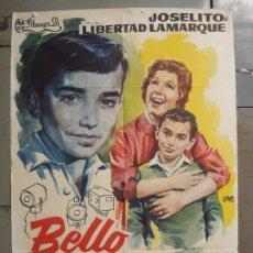Cine: CDO M207 BELLO RECUERDO JOSELITO LIBERTAD LAMARQUE JANO POSTER ORIGINAL 70X100 ESTRENO. Lote 287584833