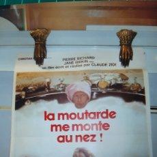 Cine: LA MOUTERDE ME MONTE AU NEZ PIERRE RUCHARD JANE BIRKIN FILM CLAUDE ZUDI BUENO ESTADO 1974. Lote 287650598