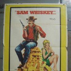 Cine: CDO M215 SAM WHISKEY BURT REYNOLDS ANGIE DICKINSON JANO POSTER ORIGINAL 70X100 ESTRENO. Lote 287651703