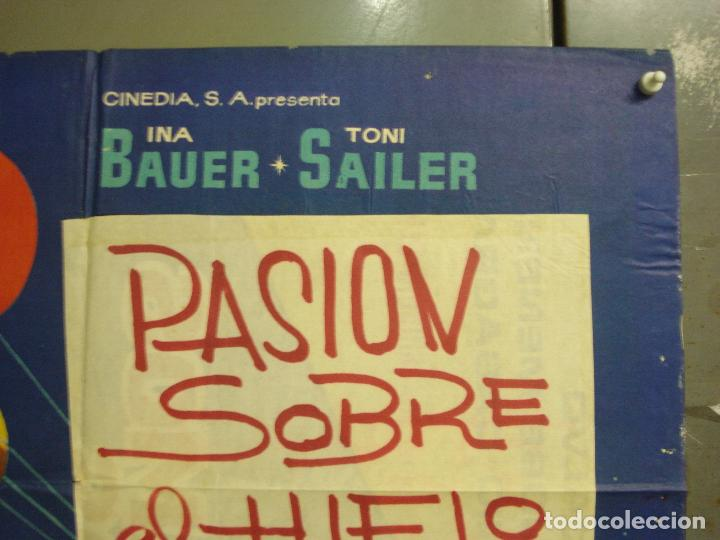Cine: CDO M227 BAILANDO LLEGO EL AMOR INA BAUER TONI SAILER PATINAJE POSTER ORIGINAL 70X100 ESTRENO - Foto 6 - 287665363