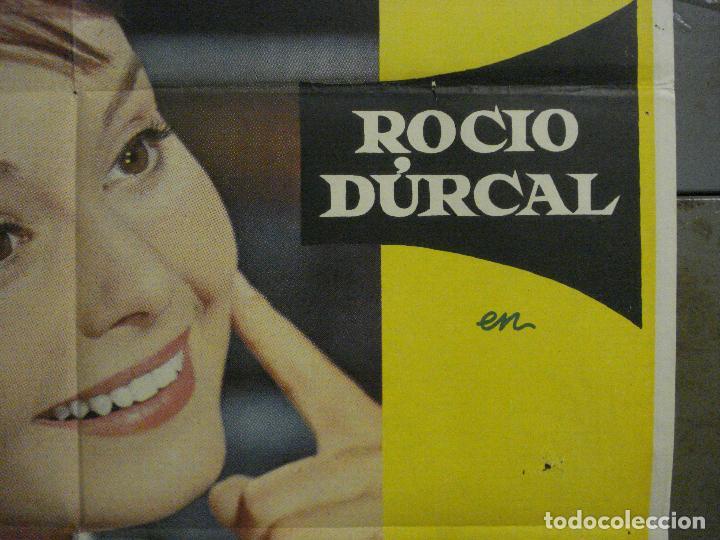 Cine: CDO M244 ROCIO DE LA MANCHA ROCIO DURCAL LUIS LUCIA POSTER ORIGINAL 70X100 ESTRENO - Foto 7 - 287696398