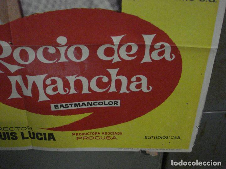 Cine: CDO M244 ROCIO DE LA MANCHA ROCIO DURCAL LUIS LUCIA POSTER ORIGINAL 70X100 ESTRENO - Foto 9 - 287696398