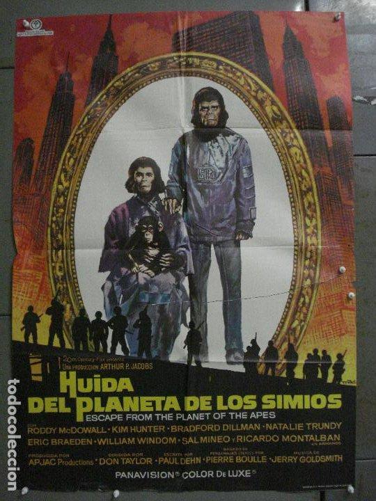 CDO M245 HUIDA DEL PLANETA DE LOS SIMIOS POSTER MAC ORIGINAL 70X100 ESTRENO (Cine - Posters y Carteles - Ciencia Ficción)