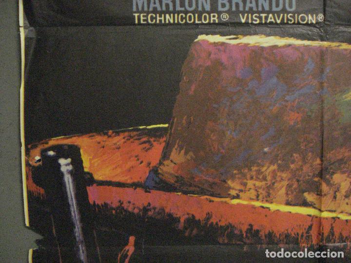 Cine: CDO M246 EL ROSTRO IMPENETRABLE MARLON BRANDO MAC POSTER ORIGINAL 70X100 ESPAÑOL r-72 - Foto 3 - 287698223