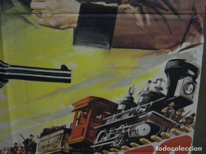 Cine: CDO M248 UNION PACIFICO CECIL B DEMILLE BARBARA STANWYCK POSTER ORIGINAL 70X100 ESPAÑOL - Foto 8 - 287699103