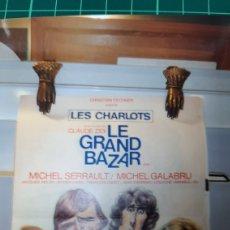 Cine: LES CHARLOTS LE GRAN BAZAR CKAUDE ZUDI MICHAEL SERRAULT. Lote 287711913