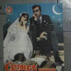 Cine: CDO M288 CRIMEN PARA RECIEN CASADOS CONCHA VELASCO FERNAN GOMEZ POSTER ORIGINAL 70X100 ESTRENO. Lote 287723623
