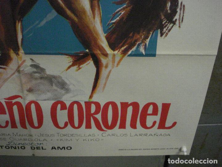 Cine: CDO M293 EL PEQUEÑO CORONEL JOSELITO POSTER ORIGINAL ESTRENO 70x100 - Foto 9 - 287727468