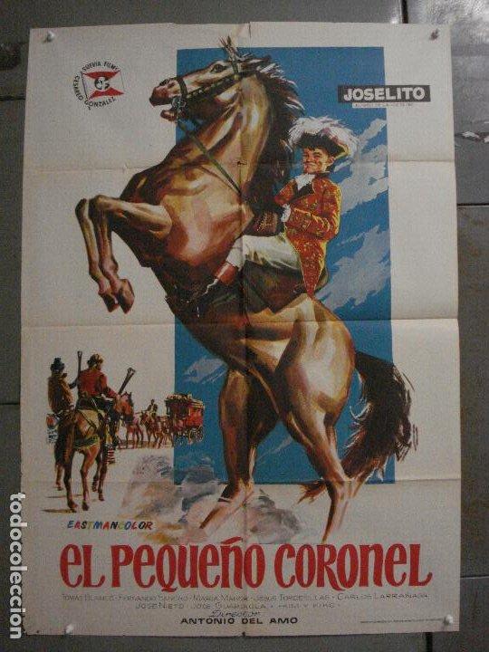 CDO M293 EL PEQUEÑO CORONEL JOSELITO POSTER ORIGINAL ESTRENO 70X100 (Cine - Posters y Carteles - Clasico Español)