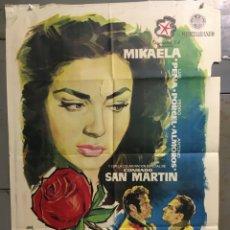 Cine: CDO M308 LA ROSA ROJA MIKAELA LUIS PEÑA RAFAEL BARDEM POSTER ORIGINAL 70X100 ESTRENO. Lote 287739798