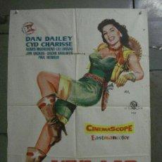 Cinema: CDO M302 VIVA LAS VEGAS CYD CHARISSE MEET ME IN LAS VEGAS JANO POSTER ORIGINAL ESTRENO 70X100. Lote 287742018
