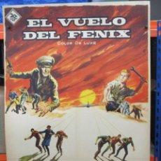Cine: CARTEL ORIGINAL DE EPOCA - EL VUELO DEL FENIX - JAMES STEWART - 100 X 70. Lote 287747668