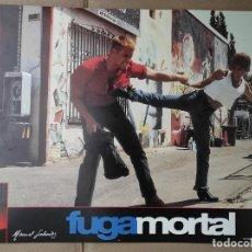 Cine: OFERTA CARTELERA DE FUGA MORTAL *DOLPH LUNDGREN, GEORGE SEGAL* EN PERFECTO ESTADO 33X24CM. Lote 287776688