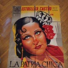 Cine: ANTIGUO CARTEL DE CINE ORIGINAL AÑOS 60 LA PATRIA CHICA. Lote 287800368