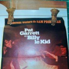 Cine: PAT GARRET ET BILLY LE KID JAMES CIBURN BOB DYLAN WESTER 681 CARTEL PÓSTER AFICHE. Lote 287832468