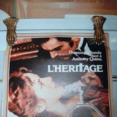 Cine: 1975 L'HERITAGE DOMINIQUE SANDA ANTHONY QUINN CARTEL 676 BUENO ESTADO. Lote 287837053