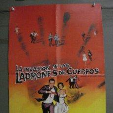 Cine: CDO M355 INVASION DE LOS LADRONES DE CUERPOS DON SIEGEL POSTER ORIGINAL 50X70 ESTRENO. Lote 287869228