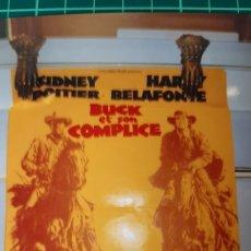Cine: BUCK ET SON COMPLICE RUBY DEE CAMERON MICHAEL HARRY BELAFONTE CARTEL PÓSTER AFICHE ORIGINAL 669. Lote 287880608