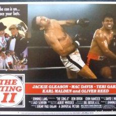 Cine: THE STING II LOBBY CARD,USA,1982,UNIVERSAL,NUMERO 3, TERI GARR,KARL MALDEN. Lote 287881418