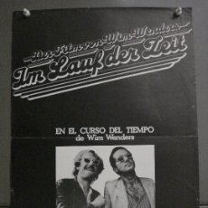 Cine: CDO M358 EN EL CURSO DEL TIEMPO WIM WENDERS POSTER ORIGINAL ESTRENO 35X50. Lote 287904538