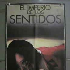 Cine: CDO M359 EL IMPERIO DE LOS SENTIDOS NAGISA OSHIMA POSTER ORIGINAL 43X63. Lote 287905093