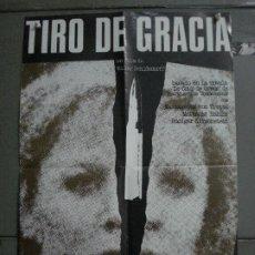 Cine: CDO M361 TIRO DE GRACIA VOLKER SCHLONDORFF POSTER ORIGINAL 50X70 ESTRENO. Lote 287906538
