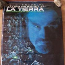Cine: CAMPO DE BATALLA LA TIERRA - APROX 70X100 CARTEL ORIGINAL CINE (L90). Lote 287930268