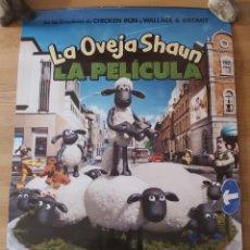 Cine: LA OVEJA SHAUN V2 - APROX 70X100 CARTEL ORIGINAL CINE (L90). Lote 287938568
